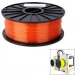 Consommable imprimante 3D PLA 3.0 mm Transparent Filaments de l'imprimante 3D, environ 115m Rouge - wewoo.fr
