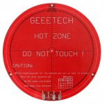Lit rond de chaleur de carte PCB pour l'imprimante 3D de Delta Rostock Mini - wewoo.fr