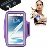 Brassard Galaxy Note Universal PU cas avec sport écouteurs Trou Samsung 4 / N910 III N9000 II N7100 i9220 N7000 N7005 Sony Z2...