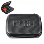 Mallette de rangement GoPro Fibre carbone antichocs boîtier portable étanche Hero 4 / 3+ 3/2/1, Taille: 22,5 cm x 16 6 Noir ...