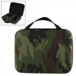 Mallette de rangement GoPro Motif camouflage EVA boîtier portable antichoc étanche 4 / 3+ 3/2/1, Taille: 21 cm x 16 6,5 N2427...