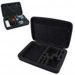 Mallette de rangement GoPro Boîtier antichoc portable étanche 4 / 3+ 3/2/1 noir - wewoo.fr