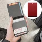 MAG Créatif Portefeuille Modulaire Détachable Magnétique (Rouge) - wewoo.fr