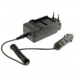 Chargeur Batterie GoPro 3 en 1 Appareil photo numérique double de voiture 3+ / AHDBT-201/301-AHDBT UE Plug - wewoo.fr
