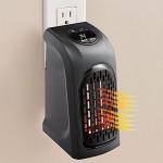 400W Portable Mini Handy Chauffe-Air Chaud Ventilateur Ventilateur Radiateur Chauffe-eau Chauffe-eau Space-outlet pour Bureau...