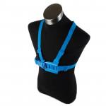 TMC thoracique de la ceinture GoPro 4 / 3+ 3/2/1 Bleu - wewoo.fr