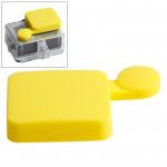 Protection Objectif GoPro TMC silicone Cap 4 / 3+ Jaune - wewoo.fr