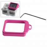 Adaptateur d'objectif GoPro Kit aluminium Longe bague de montage et tournevis 4 / 3+ Magenta - wewoo.fr