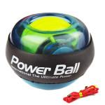 Appareils Biceps Gyroscopique poignet exercice rotor à billes avec LED Fitness Ball Bleu - wewoo.fr